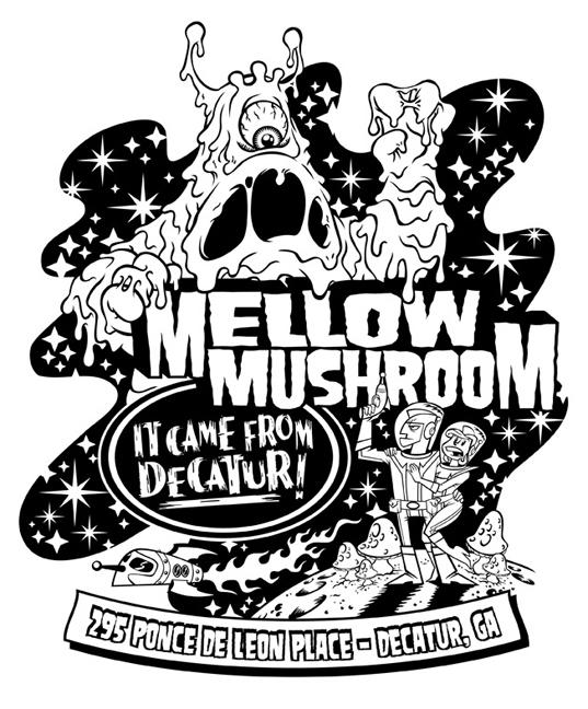 Alien T-shirt design