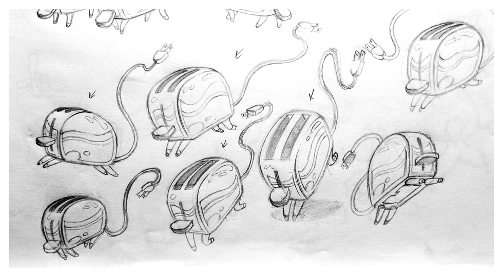 Toasters sketch