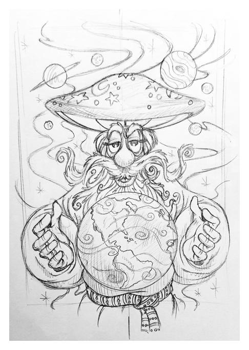 Mellow Wizard sketch