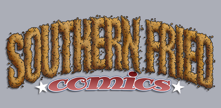 Title design for Southern Fried Comics