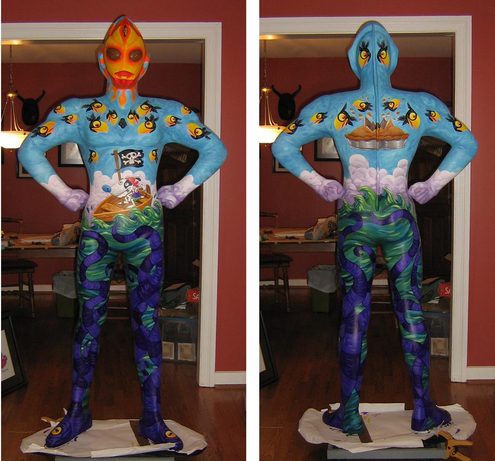 Ultraman statue