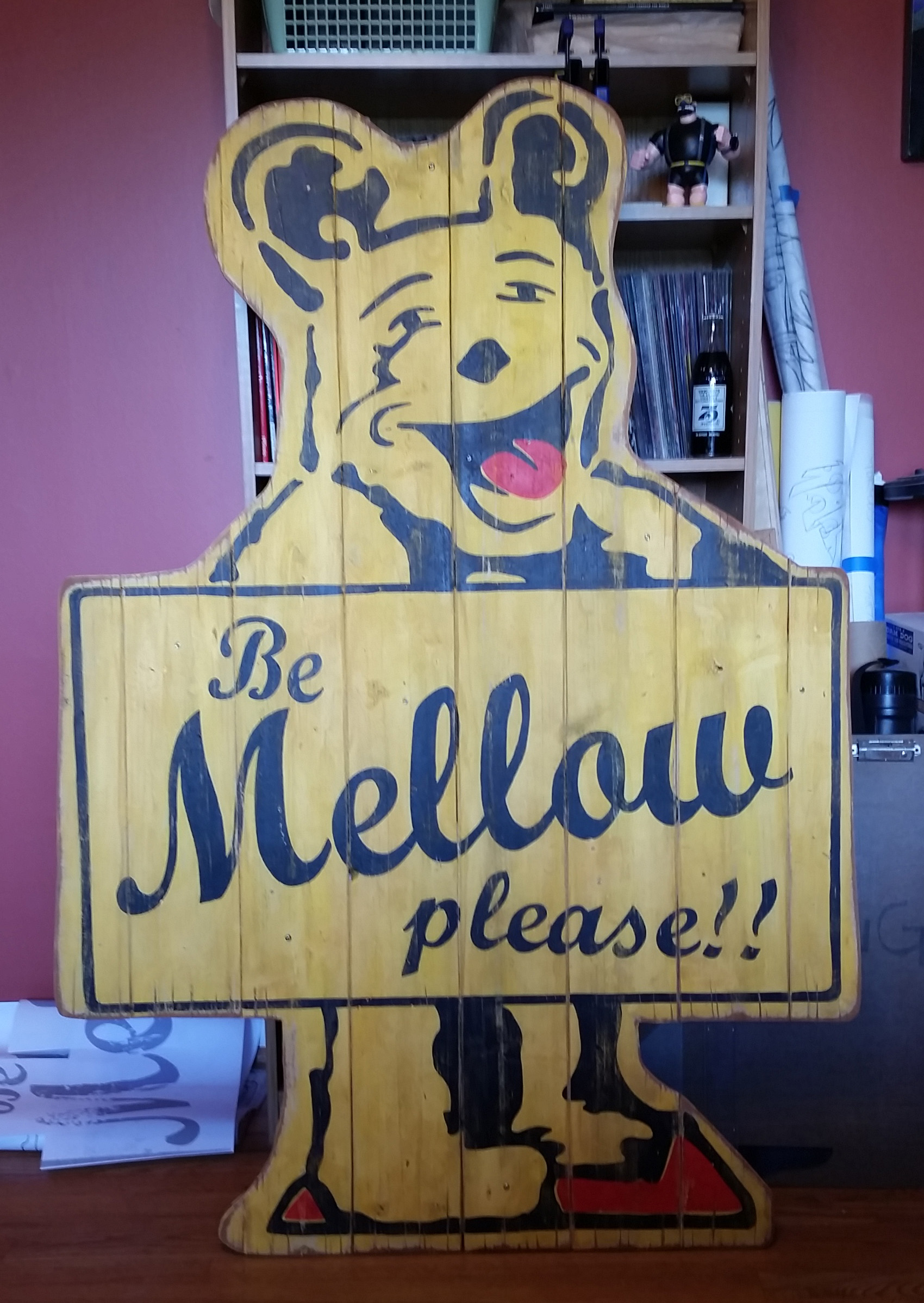 Faux Antique Bear Sign