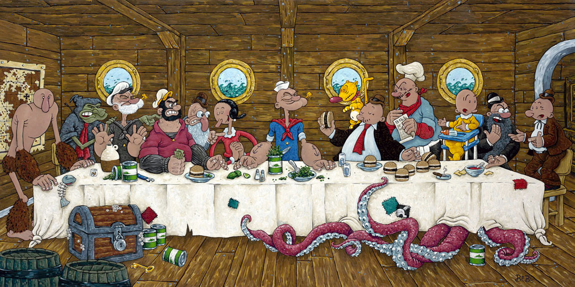 Popeye's Last Supper