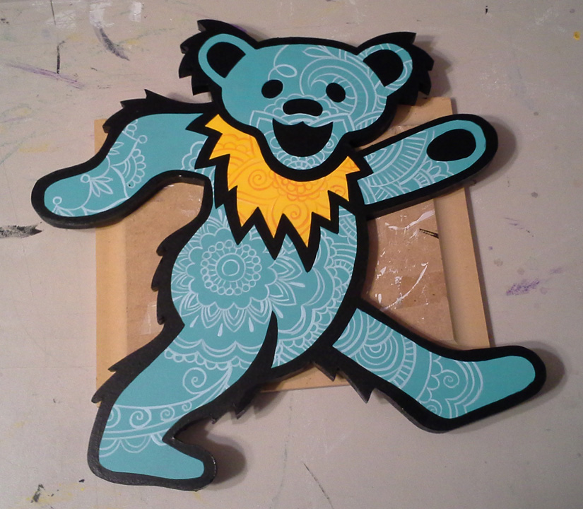 Dancing Bear cutout